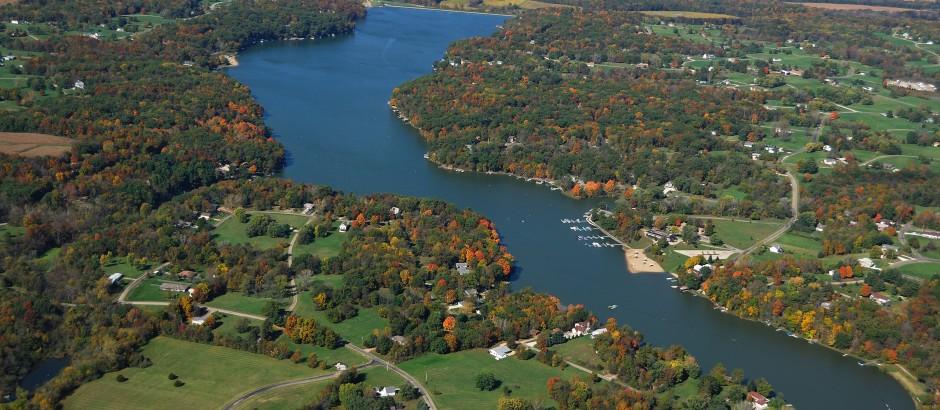 Lake Wildwood Aerial View